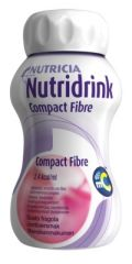 NUTRIDRINK COMPACT FIBRE MANSIKKA X4X125 ML